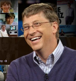 Билл Гейтс, основатель компании Microsoft. Биография