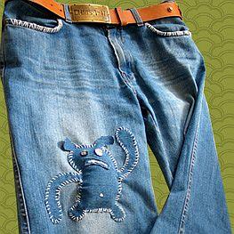 Бизнес идея: изготовление дизайнерских джинсов