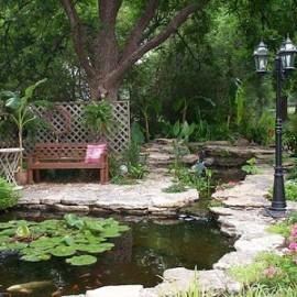 Бизнес идея: изготовление прудов на загородных участках